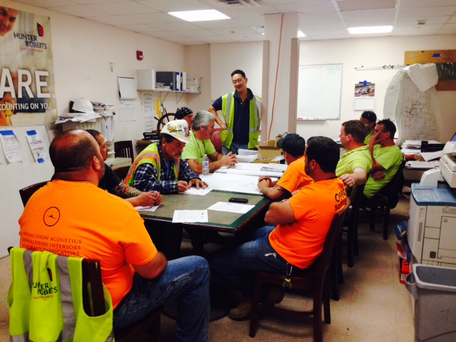 The importance of a Toolbox Talk - Safety Meetings at Work - Fit4Work