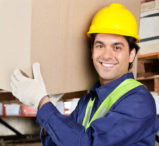 Manual Handling Training Courses - Warehouse Worker Lifting Correctly