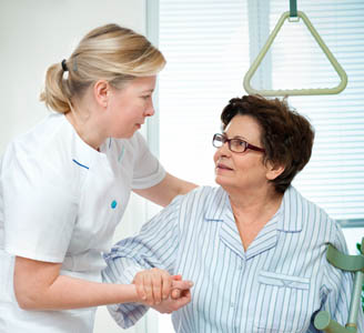 Patient Moving & Handling Training Courses - Patient being handled by trained professional