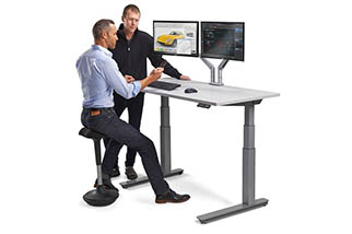 Seated or Standing Desk